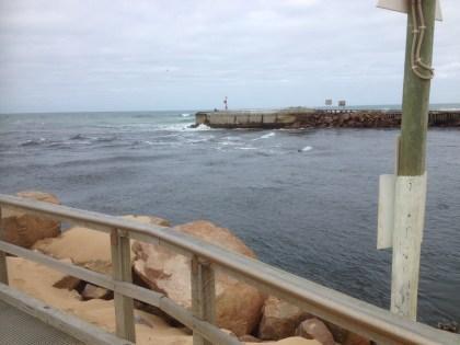 Waiting for the slack tide
