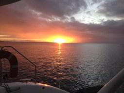 Stunning sunsets most nights