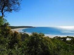 Great views along the way - Aircraft Beach