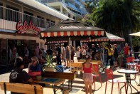 One of our first stops. Great ice creamery near the marina. Couldn't believe the queue.