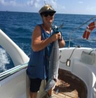 Spanish mackerel ... yum!