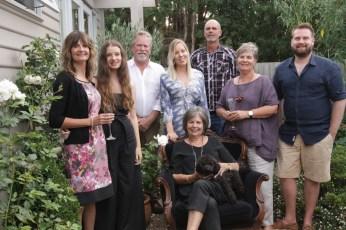 Family celebrations at mum's 80th.
