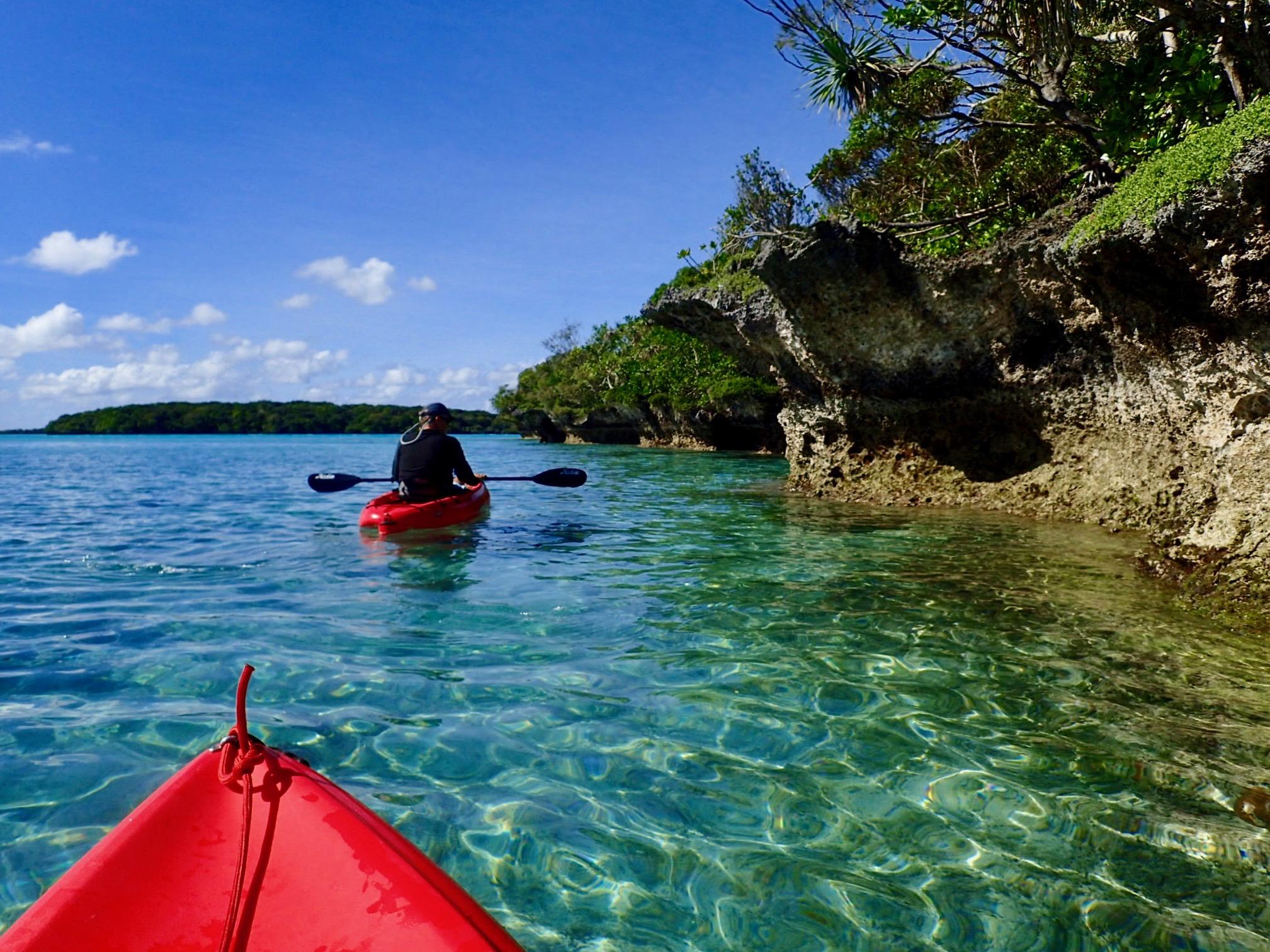 Gadji kayaking