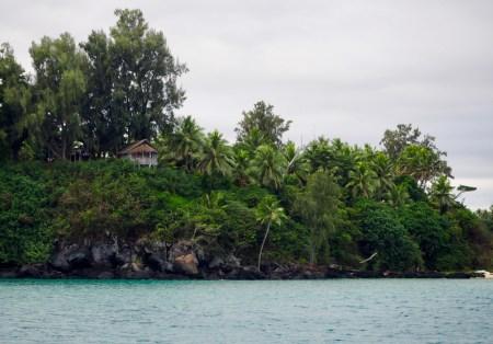 Arriving at Port Resolution Vanuatu after 31 hours at sea.