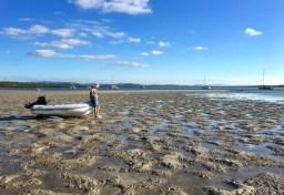 Oh dear ... low tide ... *#@$&!!!!!