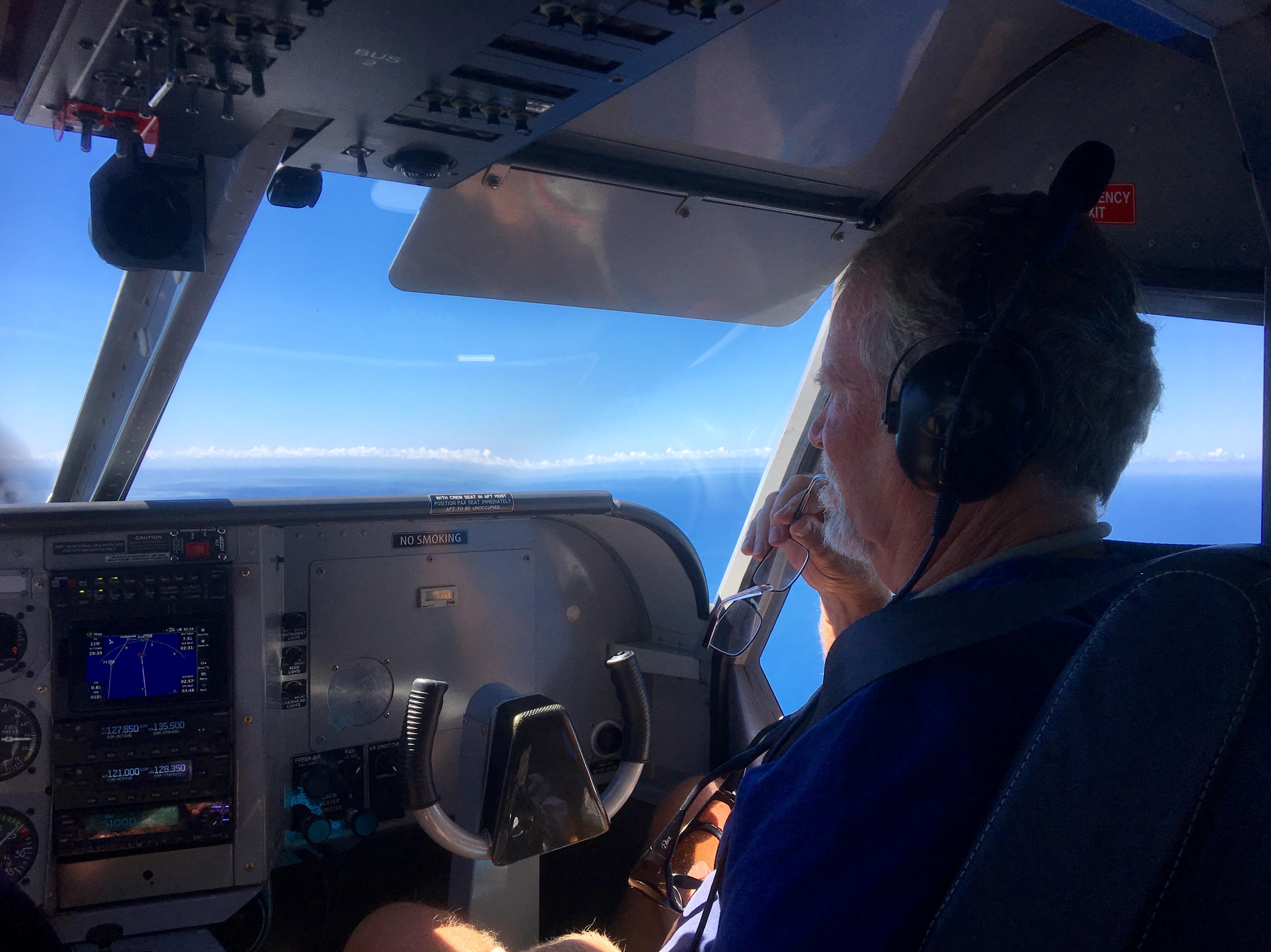 The co-pilot?? Yeeks!!