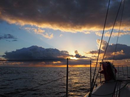Departing Keswick Island