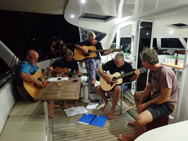 Music night with Chances, Waterfront, Pas de Chat & Bossa