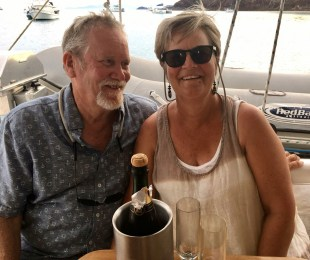 There's always something to celebrate ... this time with Waterfront. Thanks Brenda for the pic.