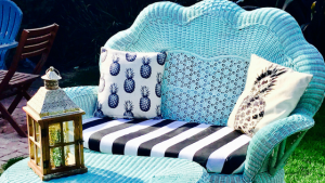 DIY | Wicker Chair Rehab