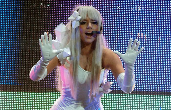 Lady Gaga In Concert - San Jose CA 2008
