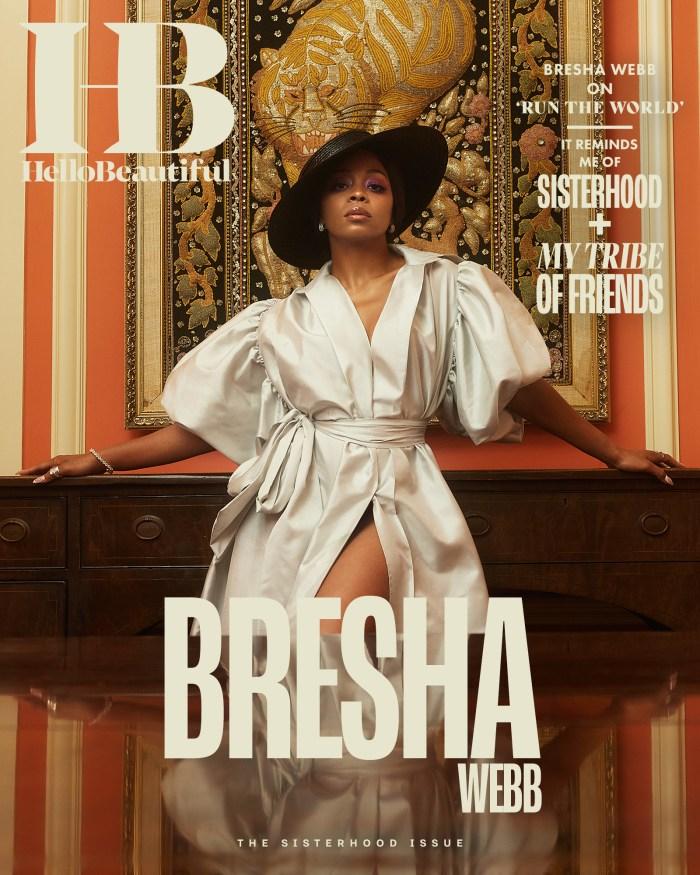 Bresha Webb HelloBeautiful Digital Cover