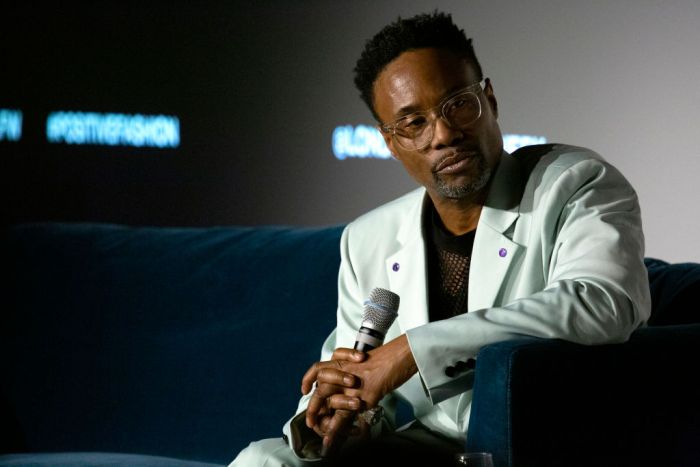 Billy Porter During London Fashion Week February 2020 - Day 3