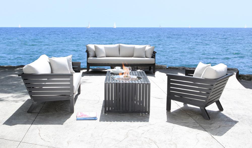 cast aluminum patio furniture apex