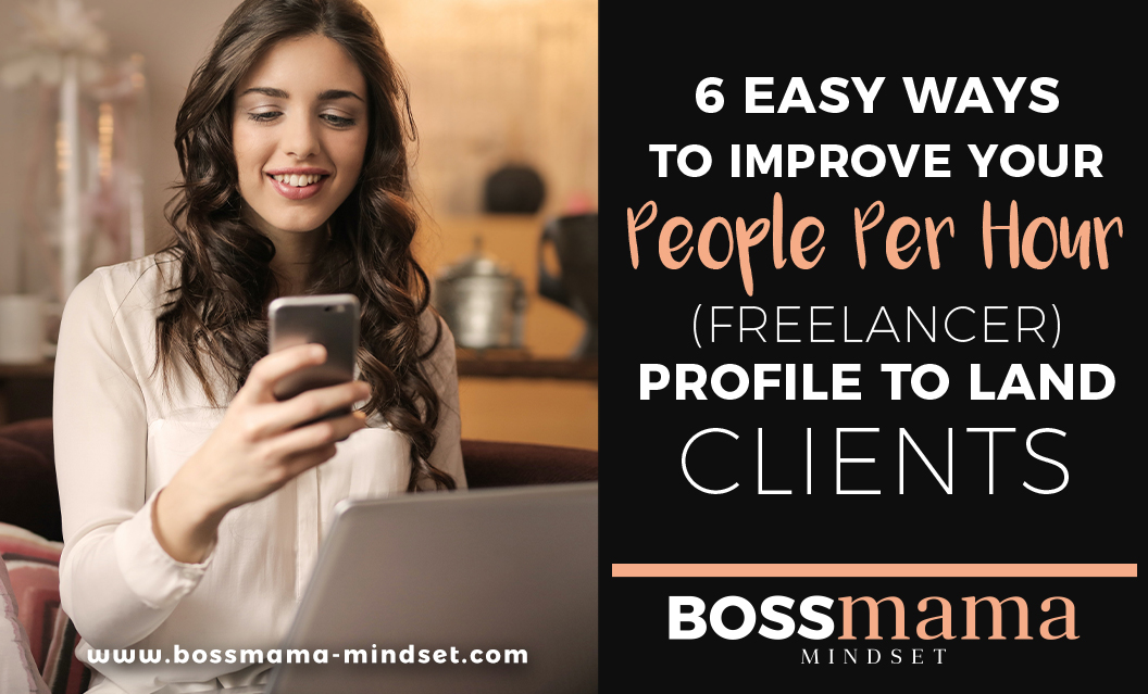 6 Easy ways to improve you PeoplePerHour freelancer profile