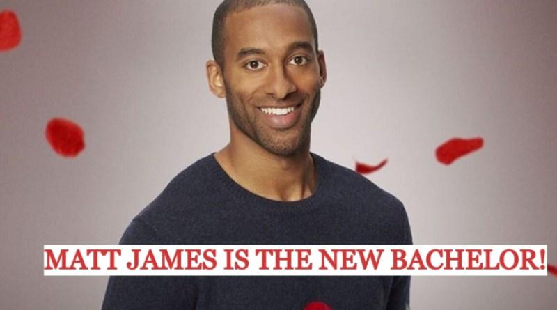 ABC Announces Matt James as the NEW BACHELOR For Season 25