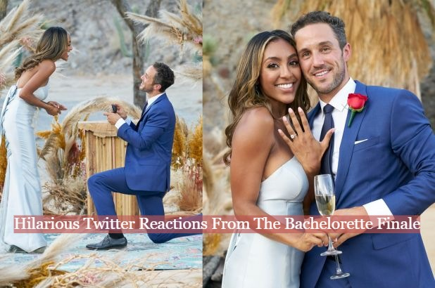 Hilarious Twitter Reactions From The Bachelorette Finale