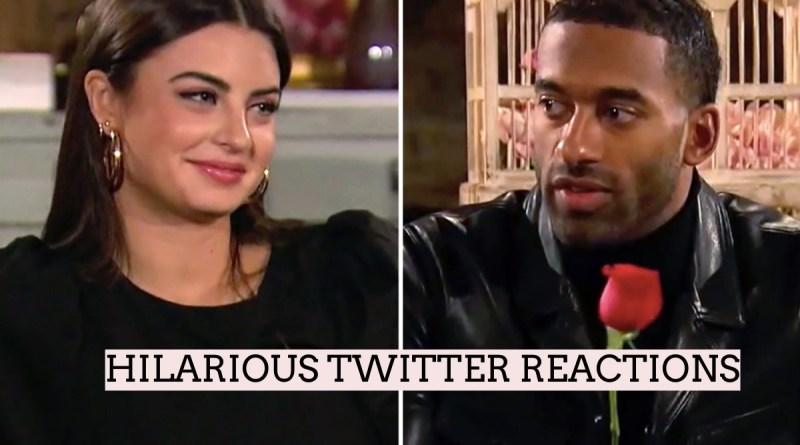 Hilarious Twitter Reactions From Episode 6 of The Bachelor – Matt James