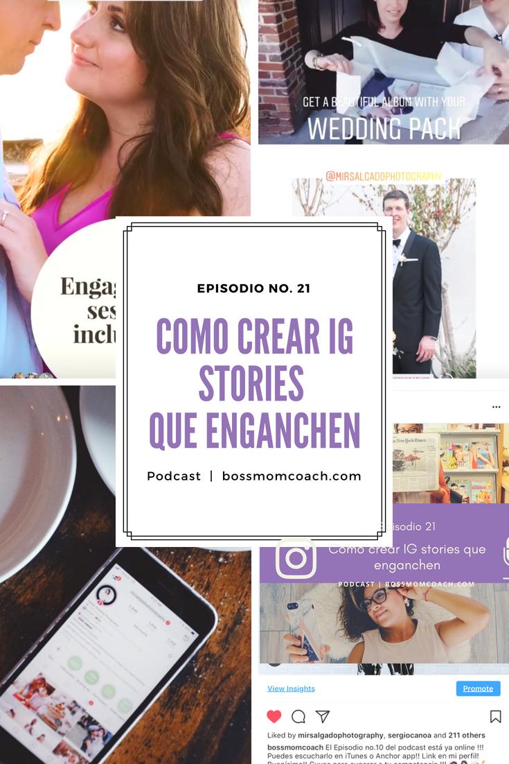 Como crear IG stories que enganchen