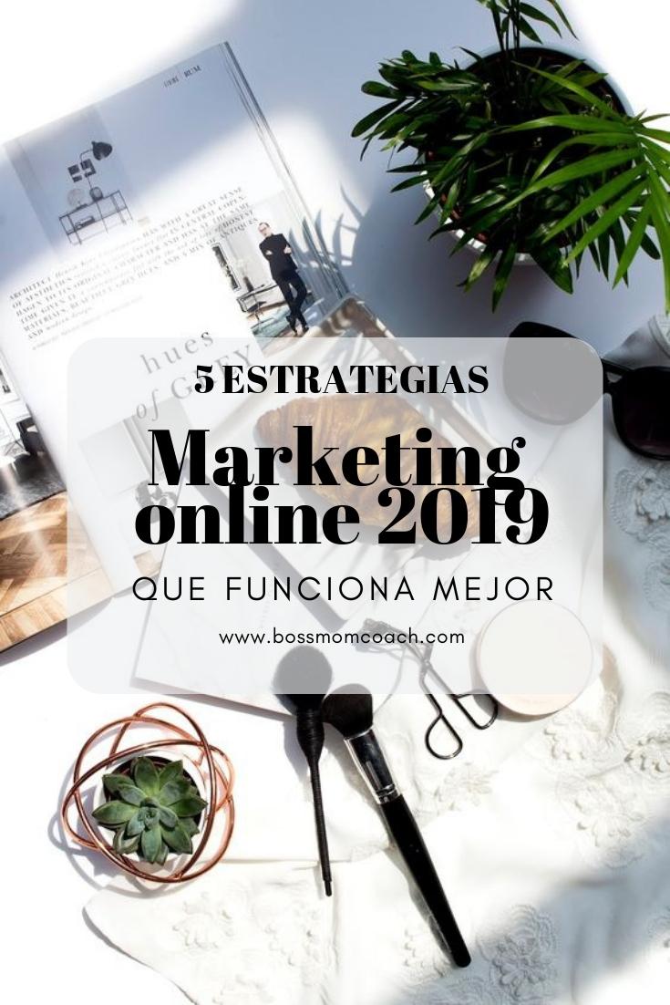Marketing online 2019