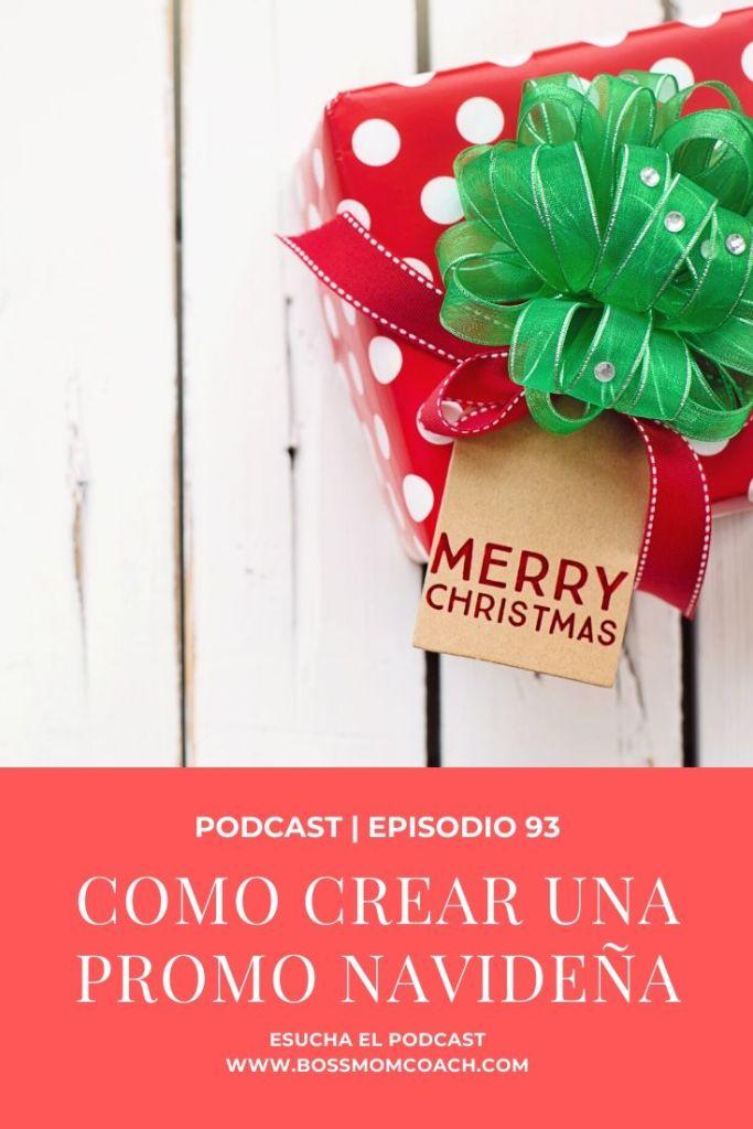 Como crear promociones navideñas