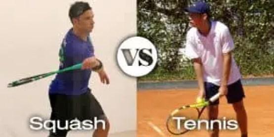 Squash VS Tennis Players