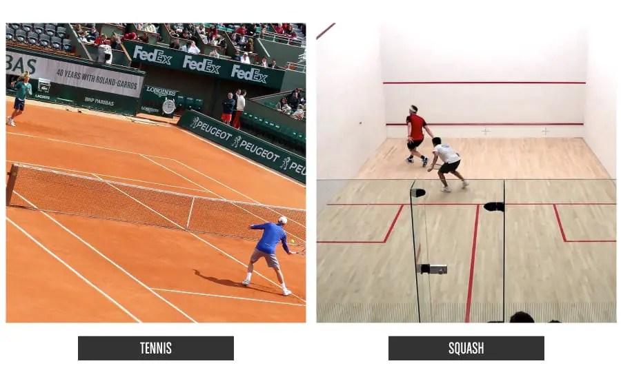 TennisVSSquash
