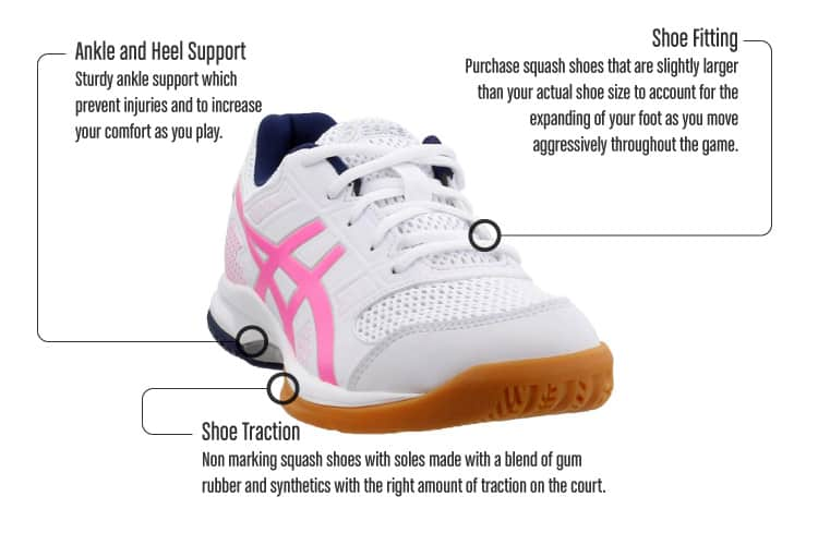 Squash Shoes [Style \u0026 Comfort Accounted
