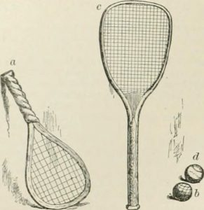 history of squash tennis influence