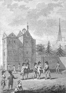 history of squash Harrow School