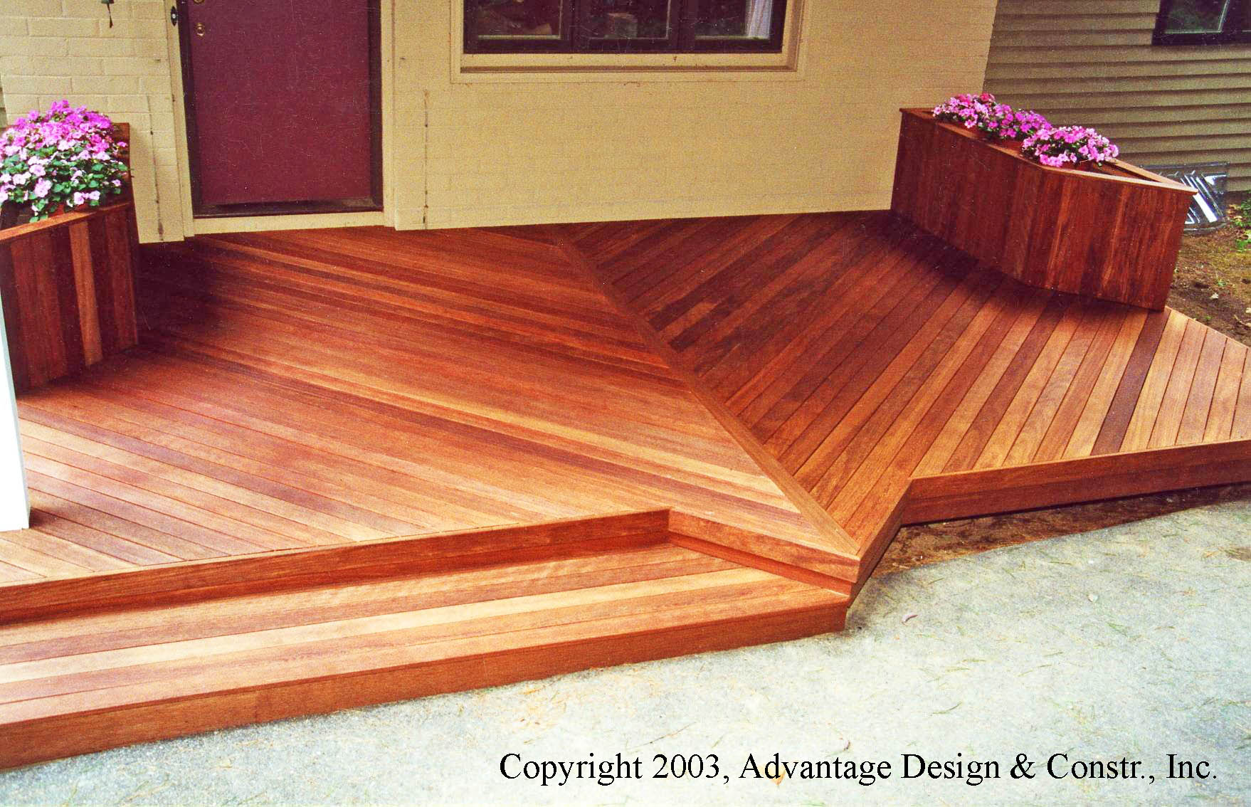 Mahogany is a great wood for outdoor decks be it cambara mahogany from south america or meranti mahogany from indonesia or the philippines