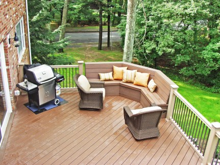Deck from above