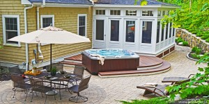 Sunroom, deck, patio in Beverly MA