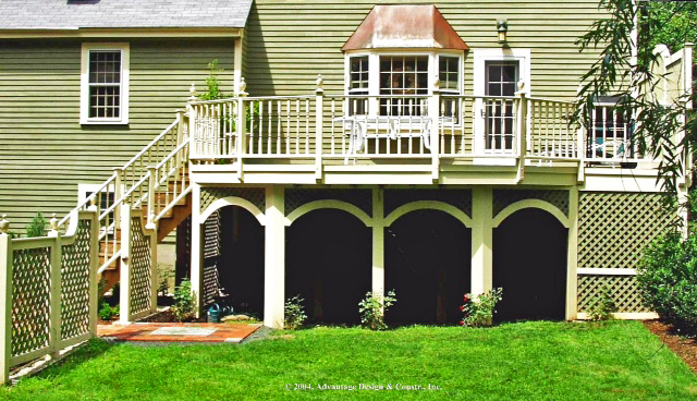 What is a Cantilever and Why would Your Deck want one?