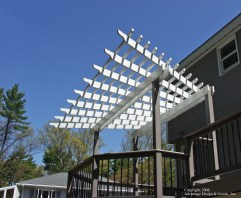 Flared Trellis by Archadeck in Wilmington MA