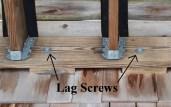 Lag Screws label