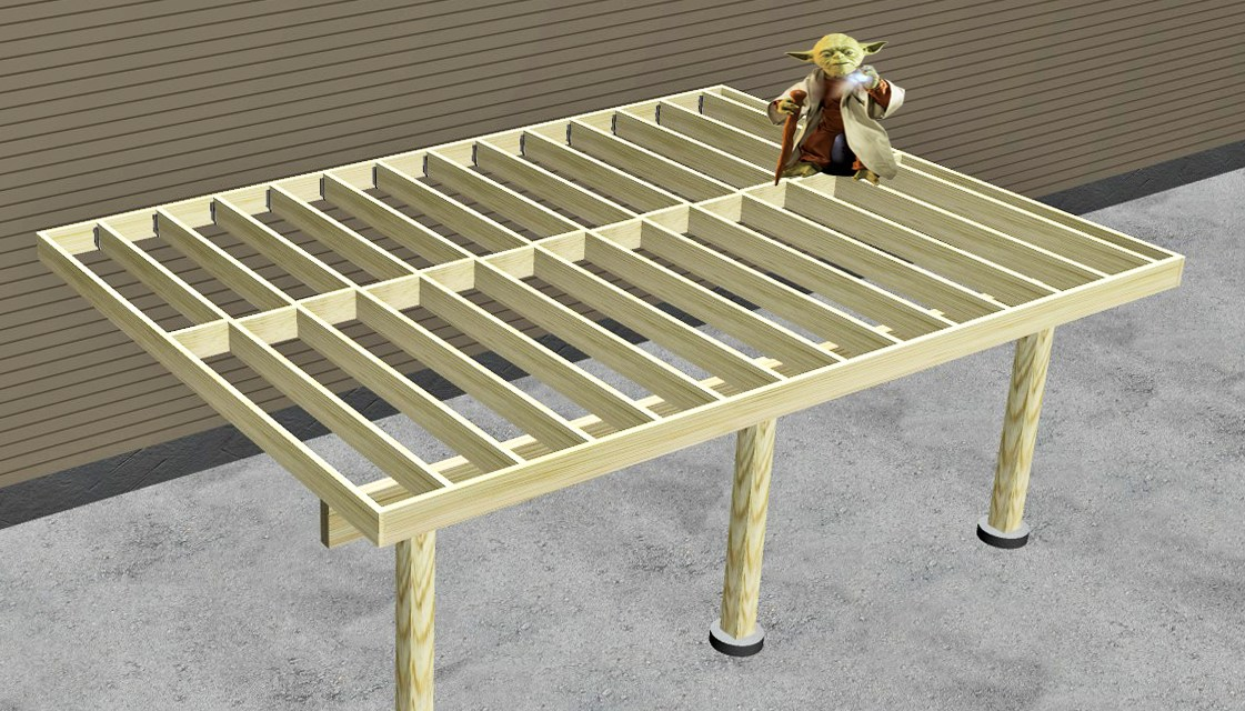 What is Post and Beam and Why would your Deck care?