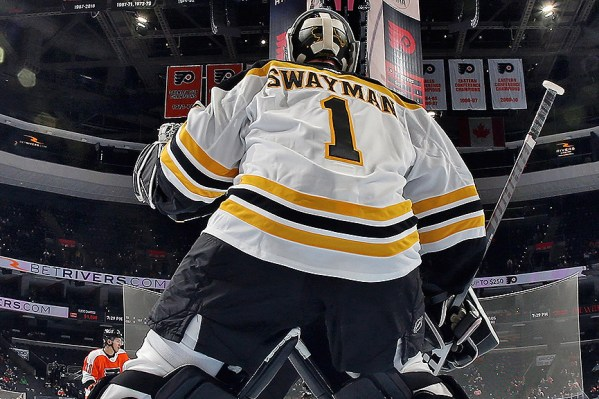 Jeremy Swayman Earns Win For Bruins, Shows Poise Of A Veteran In NHL Debut  – CBS Boston