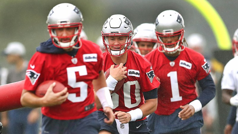 Patriots Training Camp Day 3: Another Good Day For Cam Newton, While Mac Jones' Performance Dips Late In Practice – CBS Boston