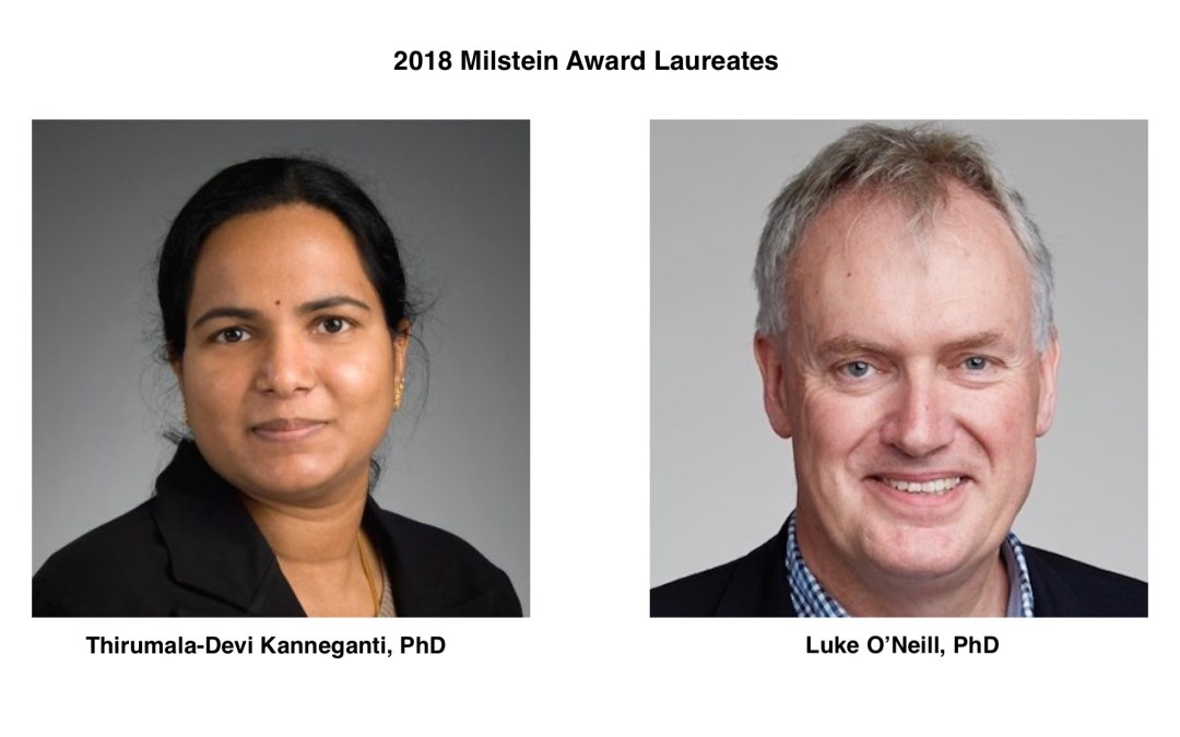 The 2018 Seymour & Vivian Milstein Award for Excellence in Interferon and Cytokine Research