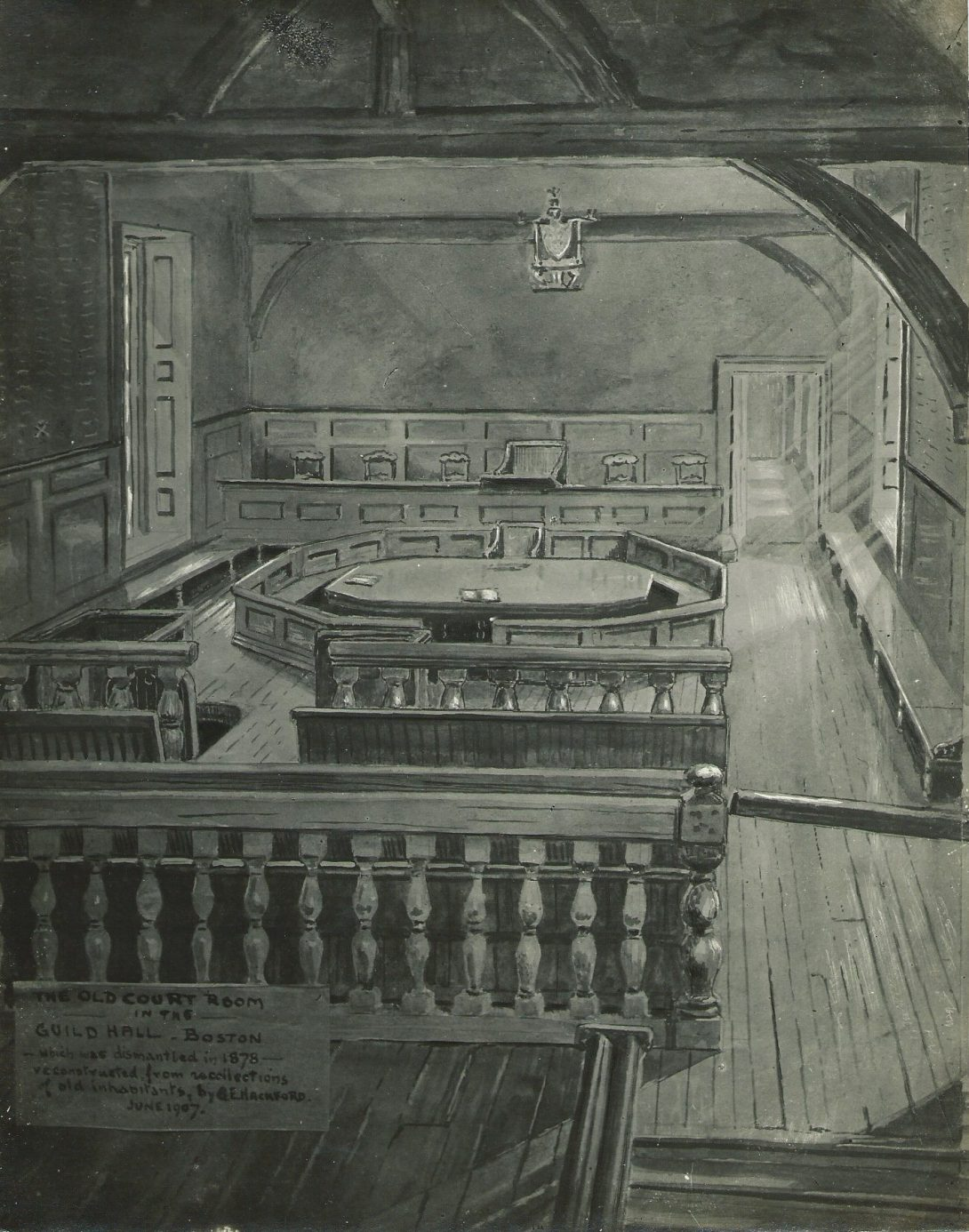 drawing of old guildhall court copy