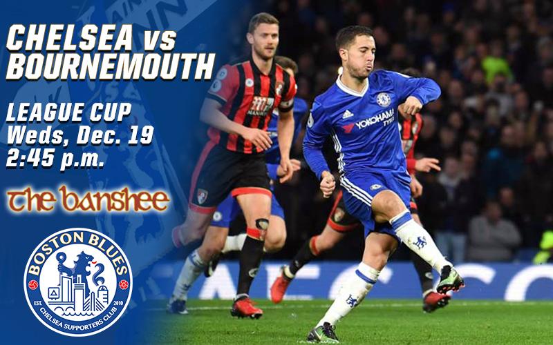 Chelsea vs Bournemouth_LC Match Graphic