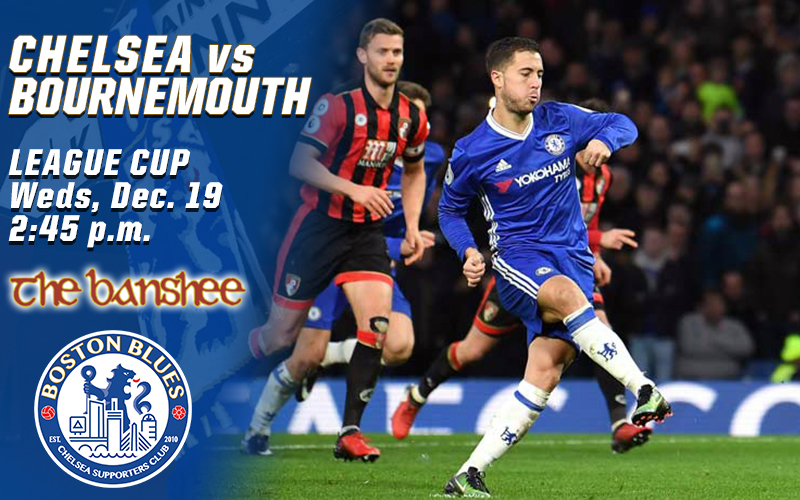 Chelsea vs Bournemouth_LC Match Graphic
