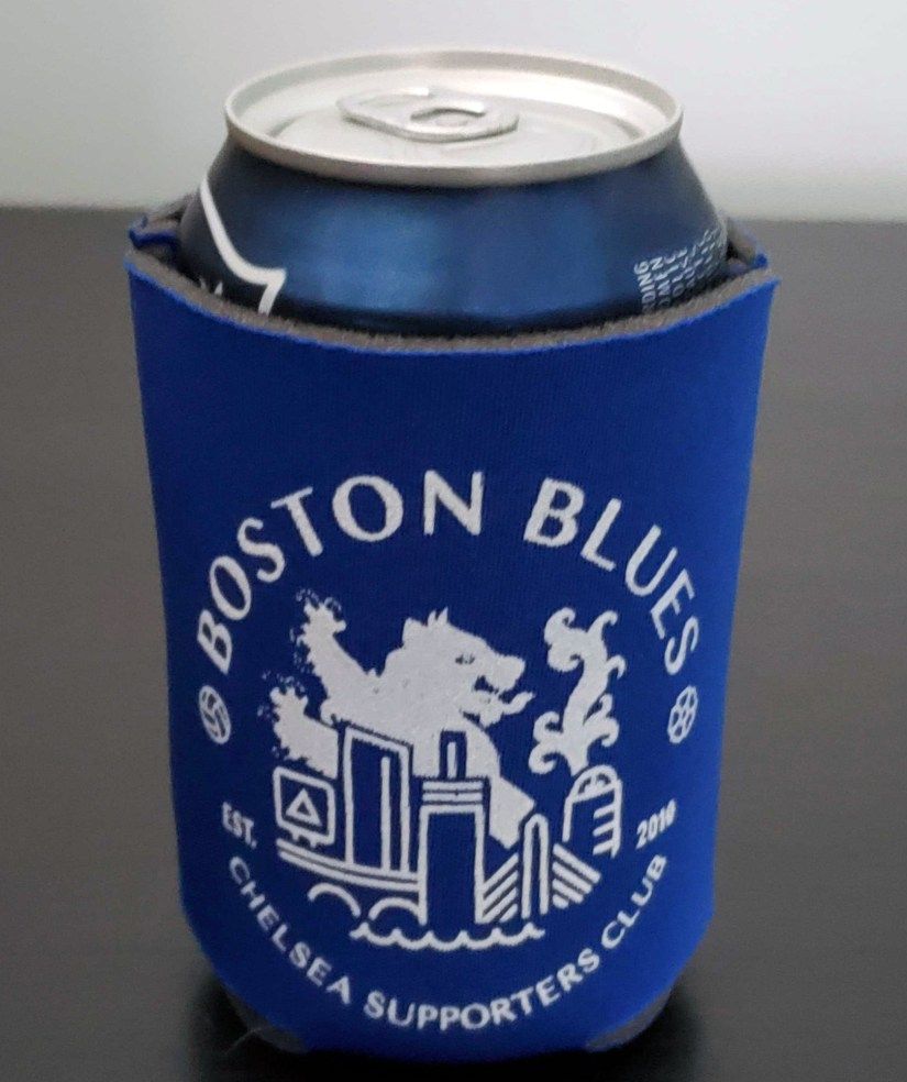 Boston Blues Koozie