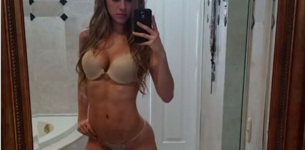 Video: #SmokeShow with the perfect body
