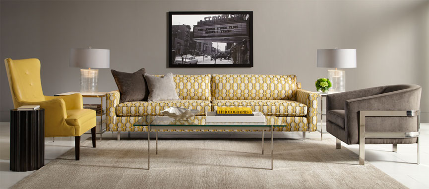 Modern Yellow Furniture Boston Design Guide