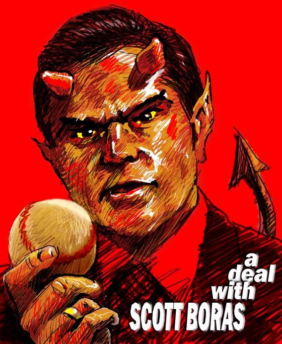 Image result for scott boras cartoon