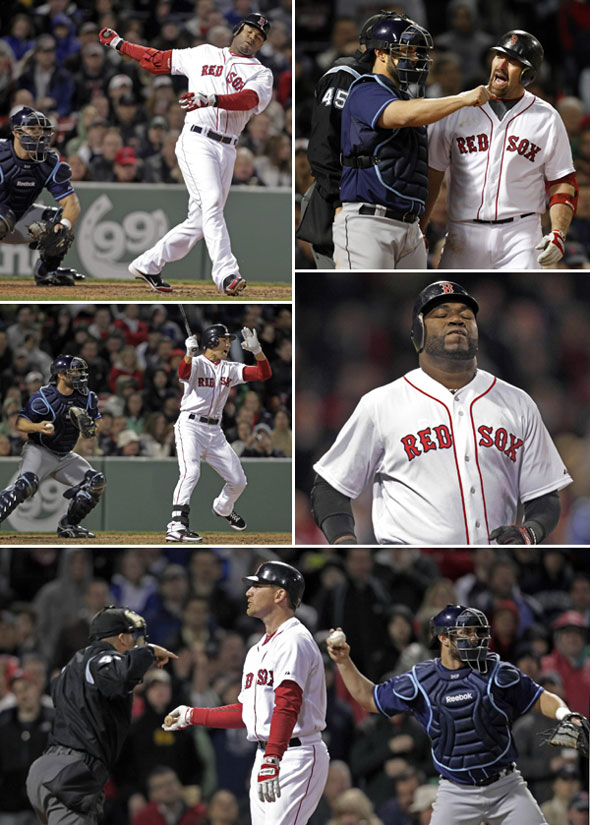 The Red Sox offense of lack thereof