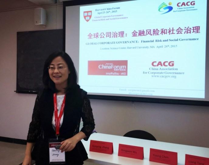1.President of Global Corporate Governance-CACG