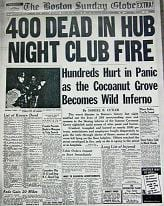 Newspaper story tells the story of the tragic fire